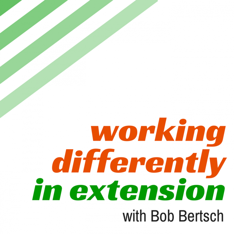 eXtension CEO Christine Geith: A WDinExt Podcast