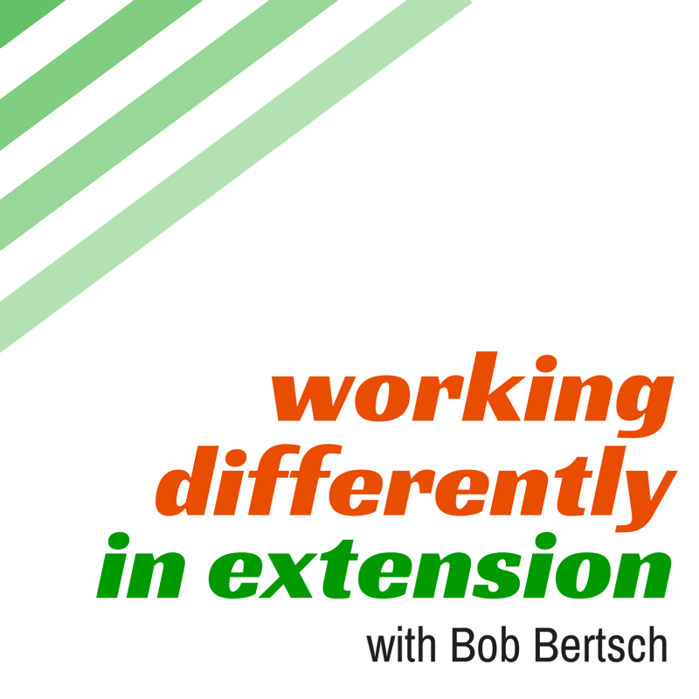 Working Differently in Extension
