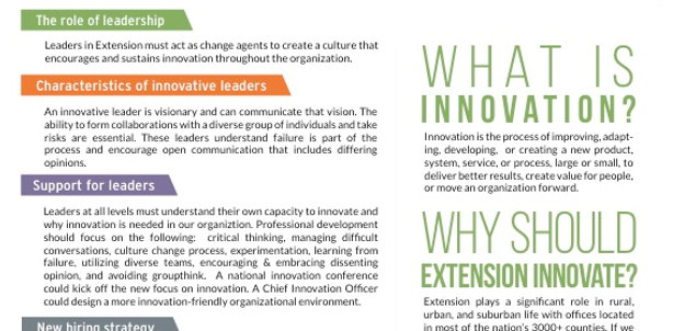 Screenshot from The Innovation Task Force Report